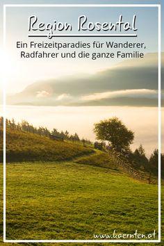 Das Rosental in Kärnten gilt als Paradies für Naturliebhaber. Egal ob Radfahren oder Wandern, die Landschaft im Herzen der Karawanken bietet tolle Naturerlebnisse, Kulinarikgenüsse und Freizeitspaß für die ganze Familie. Finde deinen persönlichen Lieblingsort!   #kaernten #urlaubinoesterreich #herbsturlaub #wanderurlaub #radurlaub #rosental #itsmylife #visitcarinthia Paradise, Bicycling, Don't Care, Hiking, Places