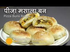 Pizza Buns Recipe - Pizza Masala Buns Recipe - YouTube