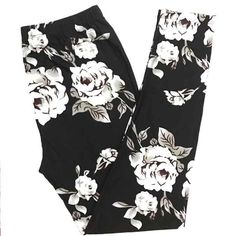 BUTTERY SOFT GORGEOUS FLORAL LEGGINGS Size: Plus Size (Similar to Tall & Curvy) Numeric Size: 10-18 Waistband: Elastic THESE ARE NOT LULAROE Fabric Blend: 92% Polyester 8% Spandex (Same Blend as Lularoe) Brand New - Hard to Find Limited Edition Print! Super Soft & Comfy Leggings ~ Just Like Other Brands!! These ARE NOT LuLaRoe Leggings But Fit & Feel Just Like Them! FREE RETURNS BEFORE RATING! FAST FREE SHIPPING! SMOKE FREE HOME ~All Prints Are Limited Edition~ ~If You...