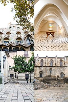 Barcelona-I would love to see the architecture there