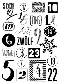 Advent calendar homemade - That's Life Berlin printables christmas printables before christmas printables before christmas printables free christmas printables Printable Calendar Template, Printable Stickers, Planner Stickers, Free Printables, Homemade Advent Calendars, Diy Advent Calendar, 1 Advent, Diy Christmas Gifts, Christmas Time