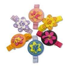 Loops and Threads™ Stackable Button Barrettes