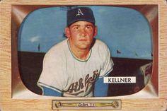 1955 Bowman #53 Alex Kellner Front