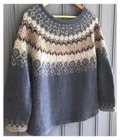Punto Fair Isle, Motif Fair Isle, Fair Isle Pattern, Fair Isle Knitting, Hand Knitting, Vintage Knitting, Knitting Designs, Knitting Patterns, Knitting Tutorials