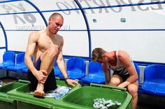 10 Tips to Speed Recovery After Exercise: Take an Ice Bath