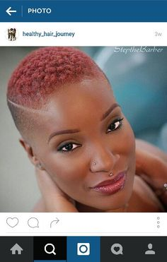 50 Most Captivating African American Short Hairstyles Short African American Hairstyles Natural Hair Short Cuts, Short Natural Haircuts, Tapered Natural Hair, Short Black Hairstyles, Short Hair Cuts, Natural Hair Styles, Twa Hairstyles, Summer Hairstyles, Shaved Hair Designs