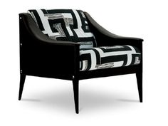Fabric armchair with armrests DEZZA THE ICONS Collection by Poltrona Frau | design Gio Ponti