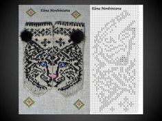 ВЯЗАНИЕ ДЛЯ СУМАСШЕДШИХ Knitted Mittens Pattern, Fair Isle Knitting Patterns, Crochet Gloves, Knit Mittens, Knitting Charts, Knitting Socks, Baby Knitting, Cross Stitch Charts, Cross Stitch Patterns