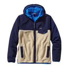 Patagonia Men's Shelled Synchilla® Snap-T® Fleece Hoody