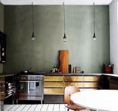 More brass kitchens