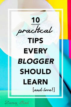 Learn 10 practical tips and advice about blogging! How to make money as a blogger, setup a newslette... -