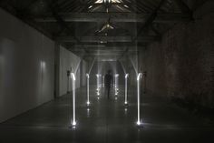 Troika, 'Arcades', 2012Installation View, Buda Tower, 2012, Photo: Wouter Van Vaerenbergh