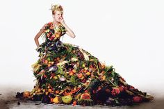 """This season fruit is back, in prints and patterns. It's a reminder that """"green"""" is now rooted in fashion's soil — and soul."""