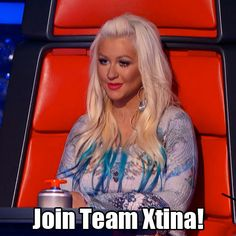 Christina uses her last steal! #TheVoice