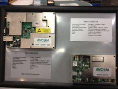 """Avcom spectrum analyzer on a 5"""" x 7"""" board!"""