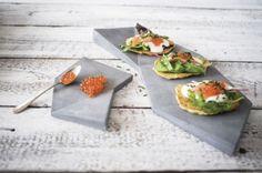 Presenta tus recetas en cemento #vajilla #cocina