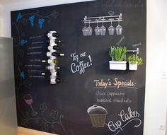 Chalkboard - Tafelwand selbst bauen - Videkiss.de