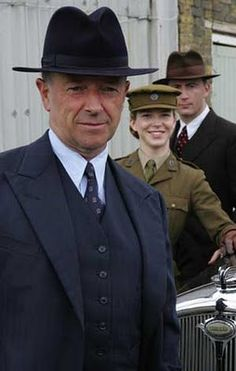 "British TV Series:"" Foyles War"".  This is ""Must See TV""! Good stuff!"