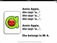 Letterland Stories: Annie Apple - App Launch Trailer - YouTube