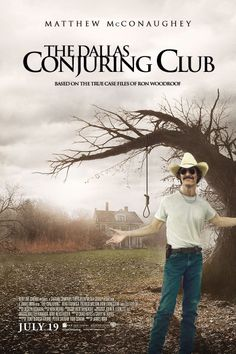 THE DALLAS CONJURING CLUB / Electrician and hustler Ron Woodroof work to help a family terrorized by AIDS patients  in their farmhouse.