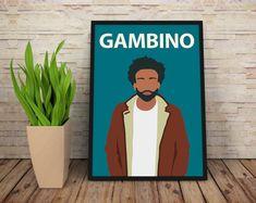 Childish Gambino / Donald Glover Poster Print by TopFloorStore