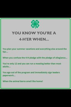 I'm FFA, but the only 12 and able to run a meeting better than most adults is too true.