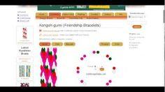 kumihimo schemi - YouTube