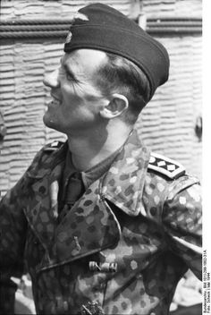Waffen-SS (Leibstandarte Adolf Hitler) panzersodat. North-France May 1944.