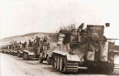 Panzer VI, Tiger column