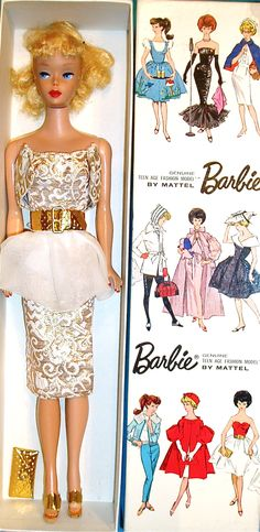 Sample Box Barbie! beautiful blond, The Boutique - Barbie, Fashion Icon of the 60's