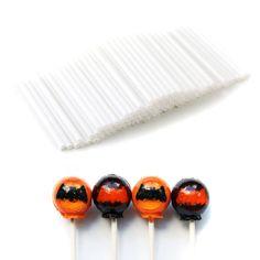 100pcs Plastic Lollipop Sucker Sticks for Chocolate Cake Candy Mould Making #IDS 1.63