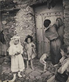 "Primera comunión   de ""Spanish Village"",   1950s by W. Eugene Smith"