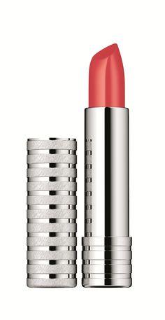 Clinique Long Last Lipstick in Beach Coral.