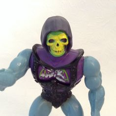 Skeletor - Masters of the Universe  - collectible toy - action figure - 80s toy by TheWhatNaught on Etsy