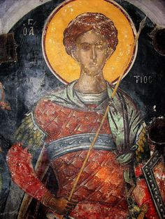 Sf, Byzantine, Cyprus, Fresco, Painting, Fresh, Painting Art, Paintings, Painted Canvas