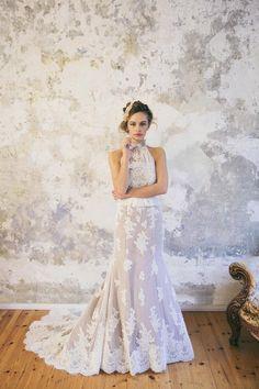Brautkleid von Fräulein Liebe gefunden bei www.weddingstyle.de