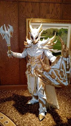 Better picture, Skyrim Holy or Purified Daedric armor, #skyrim #daedric