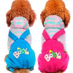 Cinta Do Bebê dos desenhos animados roupa do cão do Filhote de Cachorro Teddy Bichon Chihuahua Schnauzer cão Pequeno filhote de cachorro pet quatro pernas outono e inverno roupas em Casacos e Jaquetas para Cachorros de Home & Garden no AliExpress.com   Alibaba Group