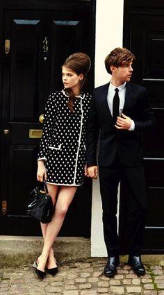 www.jaydenpresleigh.com #jaydenpresleighthesalonandspa 60s Inspired Fashion, 1960s Fashion, Mad Men Fashion, Modern Vintage Fashion, Trendy Fashion, British Fashion, Fashion Black, Fashion Trends, Autumn Fashion