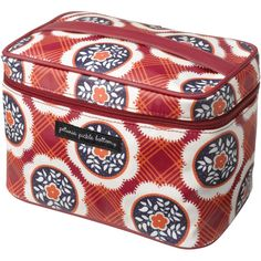 Petunia Pickle Bottom Glazed 'Travel Train' Case available at Petunia Pickle Bottom, Train Case, Petunias, New Parents, Baby Gear, Diaper Bag, Decorative Boxes, Lunch Box, Nordstrom