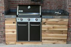 Built in unit - alfresco kitchen