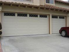 Amarr Garage Doors | Amarr Steelback Fully Insulated Garage Doors in Almond Long Panel with ...
