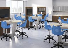 National Office Furniture Essay Task Stools and Mio Collaborative Tables Discount Office Furniture, Used Office Furniture, Business Furniture, Furniture Sets, Furniture Design, Wholesale Office Supplies, New York Office, Office Cubicle, Office Table