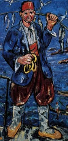 Larionov, Mikhail 1881-1964 Turk Rayonism,  Russian avant-garde art, abstract art in Russia, лучизм, русский авангард, искусство 20 века, абстрактное искусство