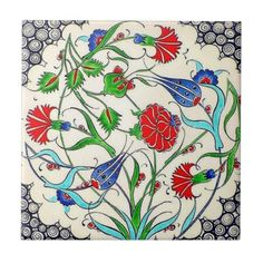 TR080 Turkish Reproduction Ceramic Tile