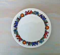 Villeroy and Boch Acapulco 6 inch Plate by MindenShop on Etsy