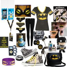"""""""batman outfit of the day !!!!! XD"""" by xxrainbowgashesxx ❤ liked on Polyvore"""