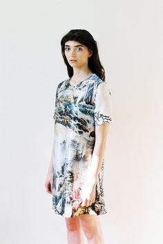 Kate Brook/ApartofmeAPOM - Lost Landscape Shift Dress