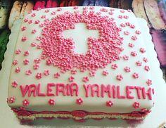 Giros commnunion cake