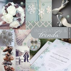 Mood Board Monday: Winter Wedding Invitation